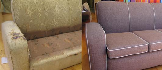 """Перетяжка и ремонт мягкой мебели от компании """"Золушка"""" - 24/7 быстро и качественно!"""