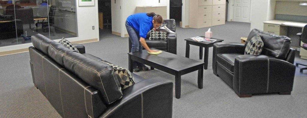 Ночная уборка офисов в Уфе