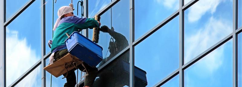 Промальпинизм — мойка окон, витрин, фасадов
