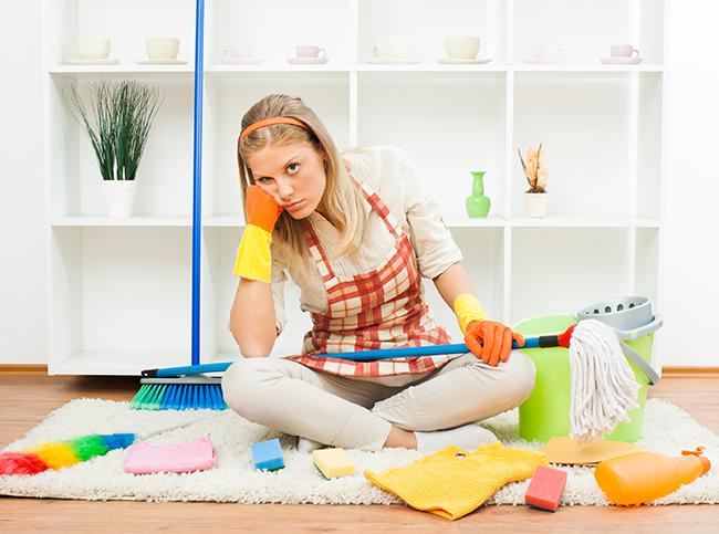 Как быстро убрать дом? - Быстрая уборка квартиры и дома