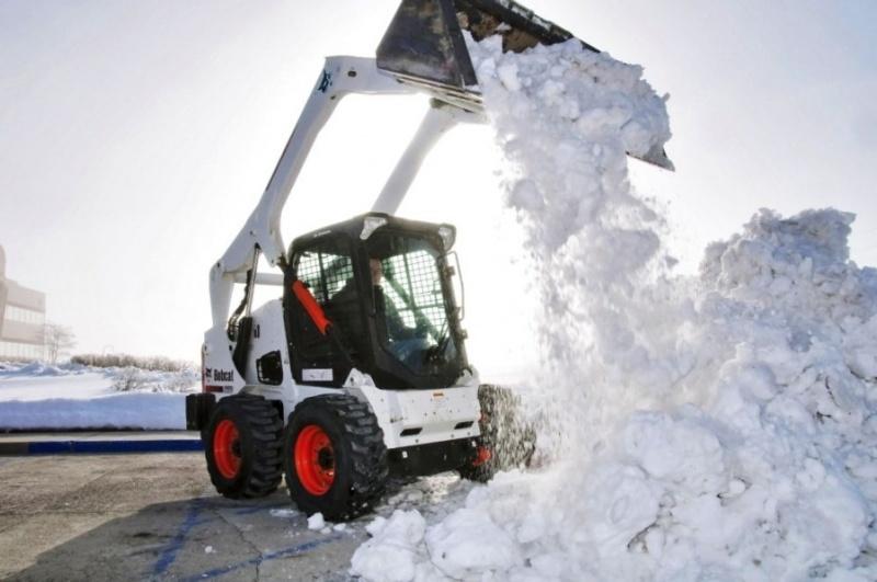Оперативная очистка от снега